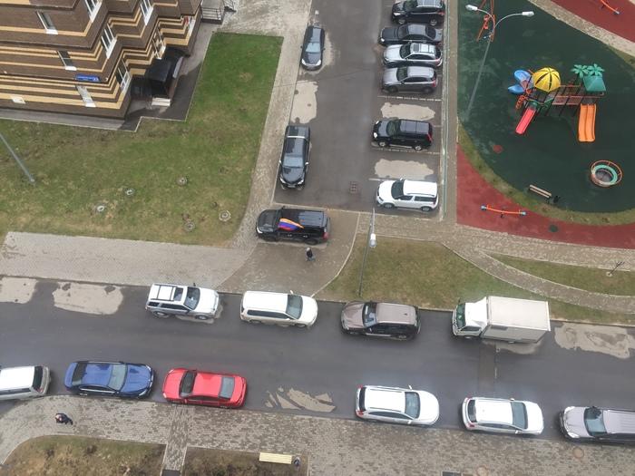 История одного крузака. Парковка, Неправильная парковка, Месть, Крузак, Land Cruiser, Длиннопост