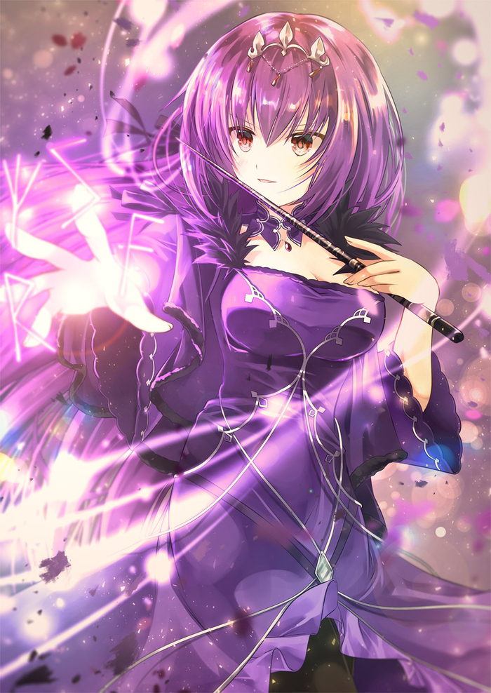 Fate Art Аниме, Anime Art, Fate, Fate Grand Order, Caster, Lostbelt, Scathach
