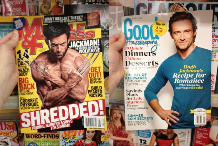 Разница между маркетингом для мужчин для и женщин.
