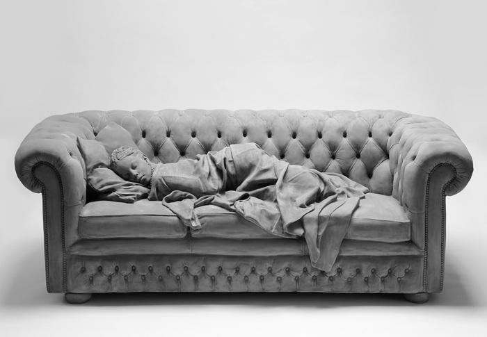 Спящая девушка Скульптура, Искусство, Сон, Длиннопост