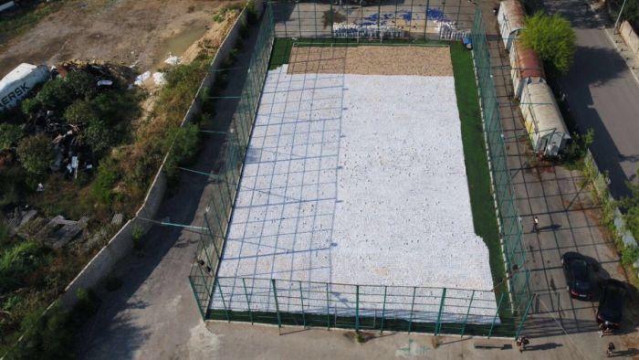 Чем заполнена эта спортивная площадка? Наркотики, Полиция, Фотография, Марихуана, Ливан, Длиннопост