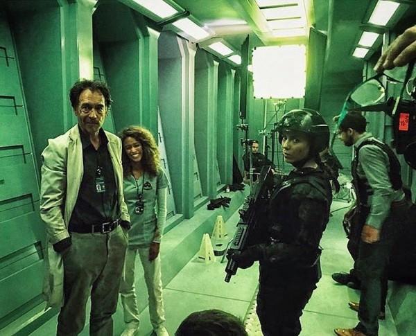 Кадры со съемок нового фильмапо Doom Doom, Doomguy, Фильмы, Феминизм, Длиннопост
