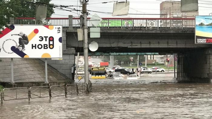 Купальный сезон в Новосибирске открыт Новосибирск, Погода, Дождь, Потоп, После дождя, Наводнение