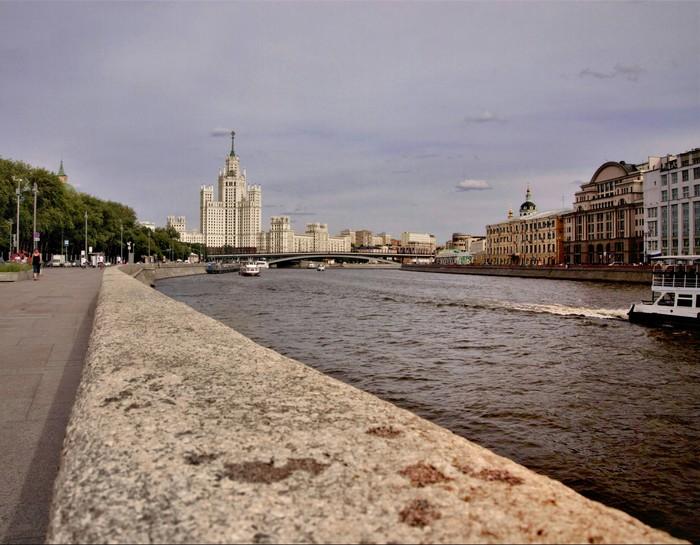 Столичные пейзажи Пейзаж, Москва, Набережная, Фотография, Olympus, Командировка, Длиннопост