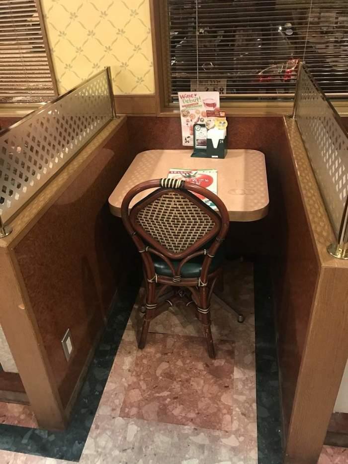 Мой идеальный столик.