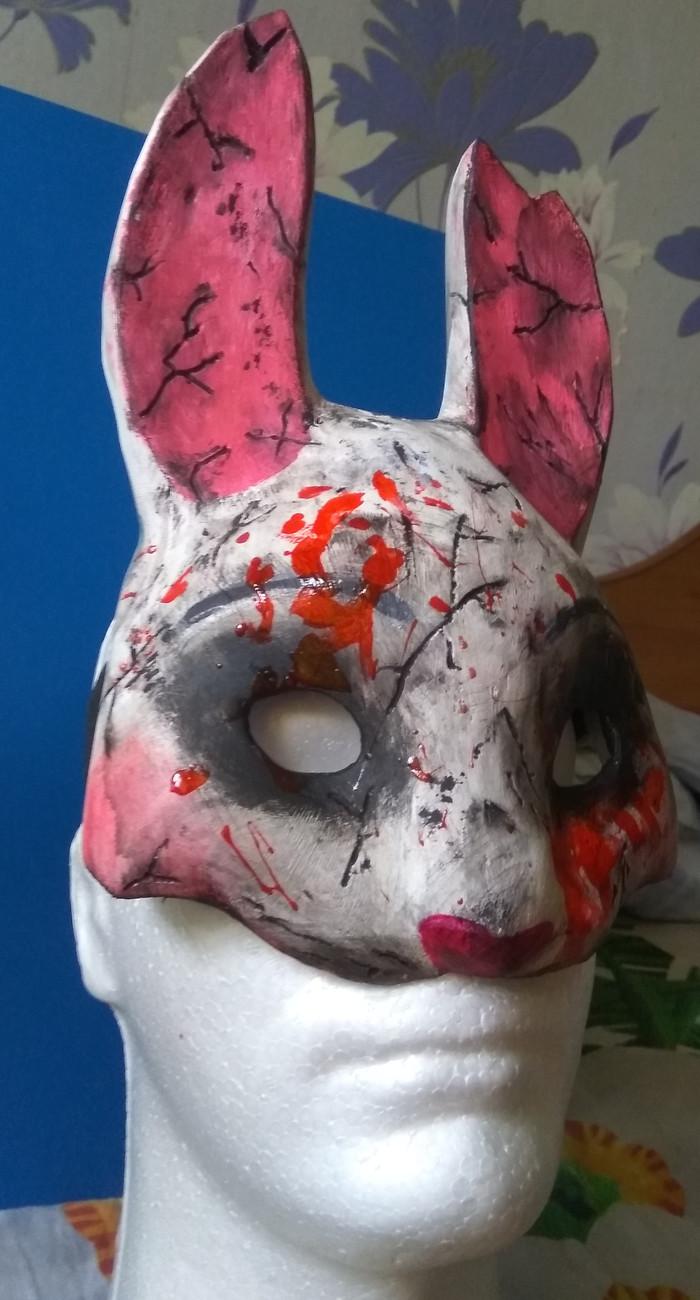 Маска Охотницы (Анны) из Dead by Daylight. А еще маска Ванира из аниме KonoSuba Pepakura, Papercraft, Ручная работа, KonoSuba, Dead by daylight, Длиннопост