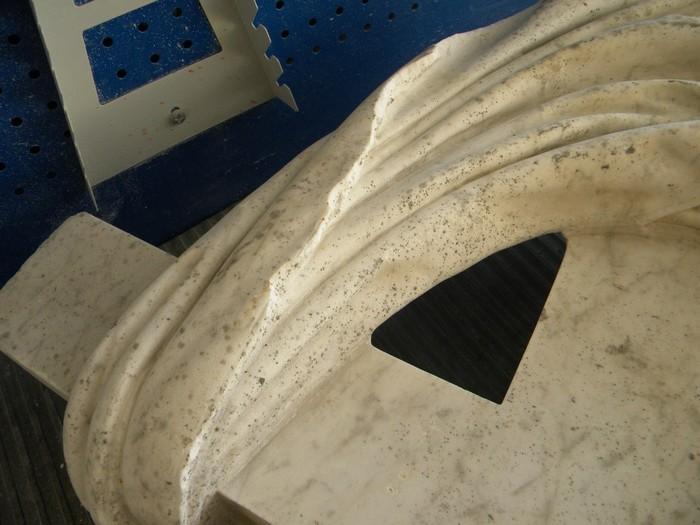 Реставрация алтарного креста базилики св. Екатерины. Часть 2. Резьба по камню, Мрамор, Реставрация, Крест, Церковь, Длиннопост