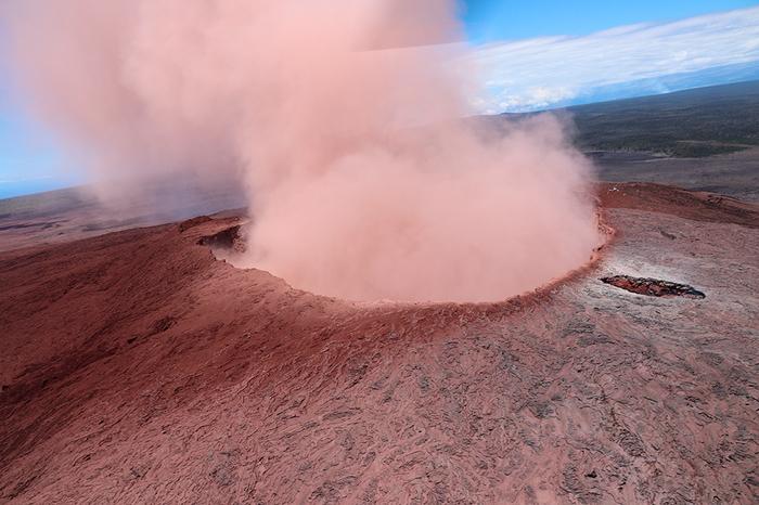 Дождь из драгоценных камней оливин, драгоценности, вулкан, извержение, гавайи, длиннопост