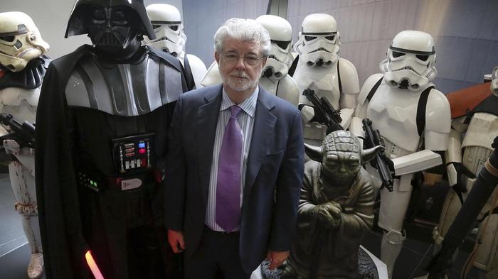 Джордж Лукас рассказал, как хотел завершить «Звездные Войны» Star wars, Джордж Лукас, Фильмы, Новости, Кинематограф, Фантастика, Kinofranshiza, Walt Disney Company