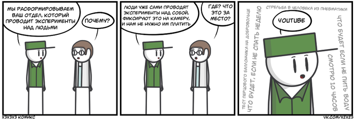 YouTube Комиксы, Юмор, Хз