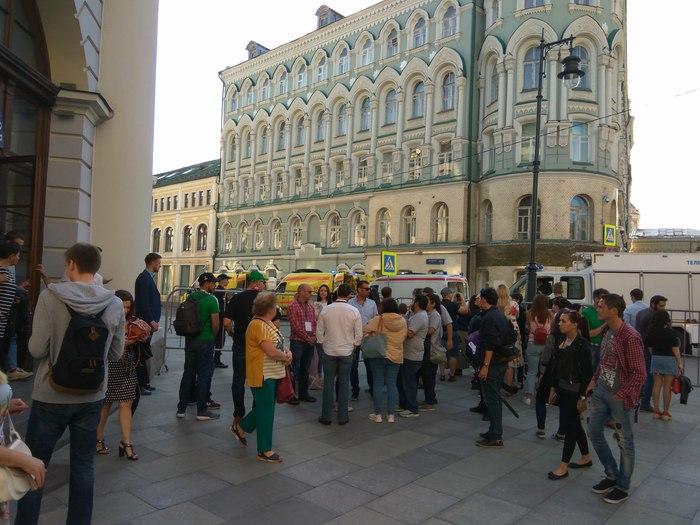 На Никольской проишествие ЧП, Москва, Скорая помощь, Без рейтинга