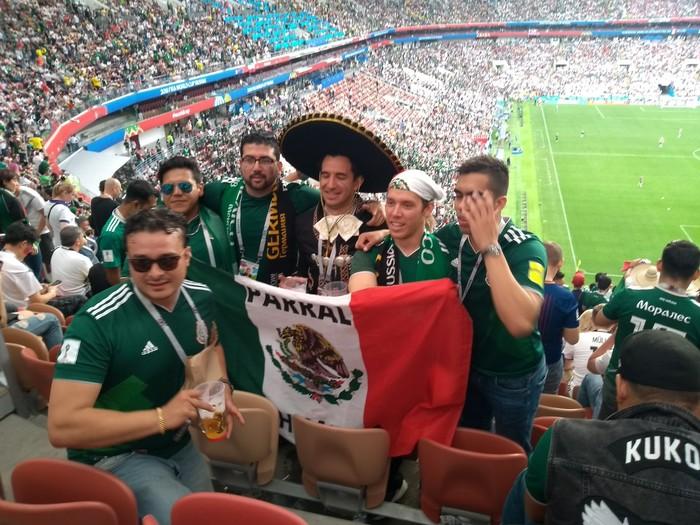 Германия - Мексика Футбол, Чемпионат мира, Мексика, Длиннопост, Чемпионат мира по футболу 2018, Германия, Болельщики