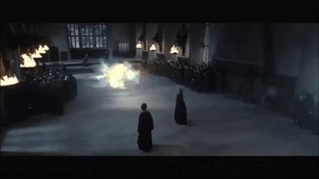 Детали фильмов. Снейп - лучший двойной агент. Гарри Поттер, Гарри Поттер и дары смерти, Северус снейп, Шпион, 9GAG, Гифка, Детали фильмов