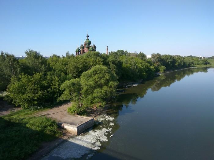 Сброс промышленных отходов сброс, отходы, Ярославль, длиннопост, экология, загрязнение окружающей среды