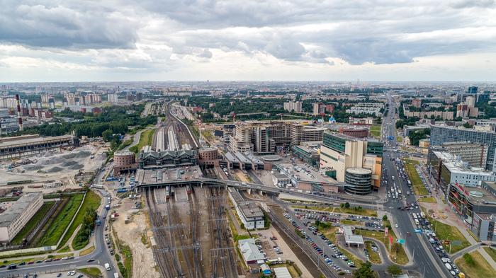 Ладожский вокзал Ладожская, Ладожский вокзал, Квадрокоптер, Санкт-Петербург, Вокзал, Длиннопост