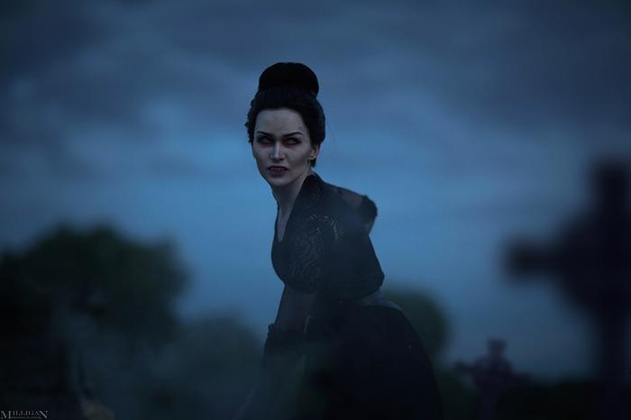 Vampyr - Mary Reid! Vampyr, Mary Reid, MilliganVick, косплей, Игры, красивая девушка, кровь, длиннопост