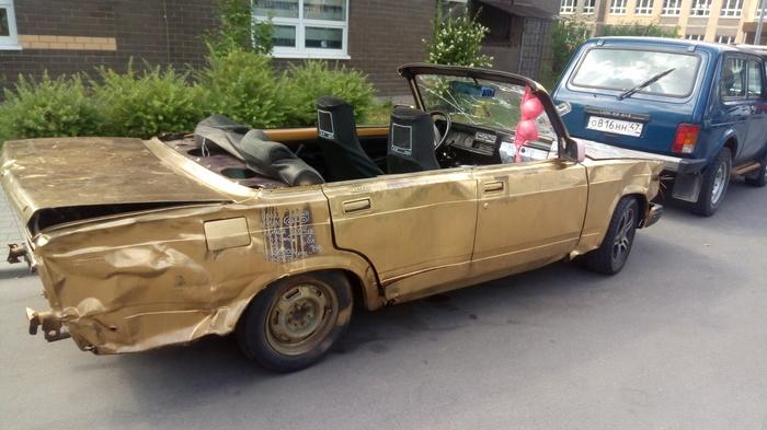 Лето пришло - на улицах появились кабриолеты.... Кабриолет, Тюнинг, Своими руками