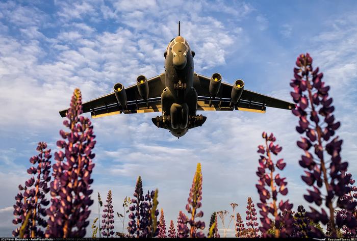 Илюшин А-50 ВКС, Самолет, а-50, Илюшин, Фотография