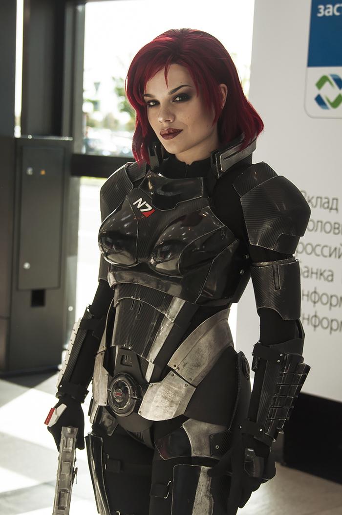 Косплей Джейн Шепард из Mass Effect 3 Mass effect, Шепард, Косплей, Старкон, Bioware, Длиннопост