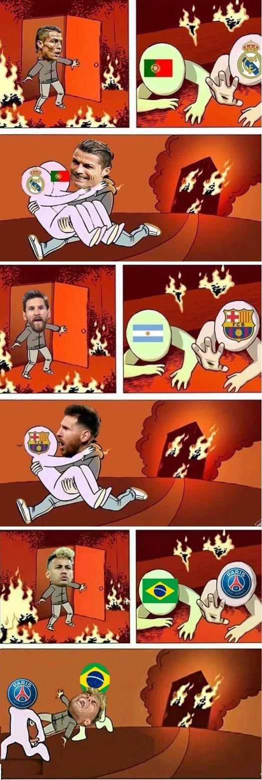 Ronaldo vs Messi vs Neymar Футбол, Длиннопост, Чемпионат мира по футболу 2018, Криштиану роналду, Лионель Месси, Неймар джуниор