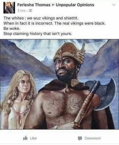 Чёрные викинги Викинги, Что этот ниггер себе позволяет, Комплексы, История