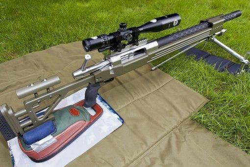 Слонобой Винтовка, Снайперская винтовка, Оружие