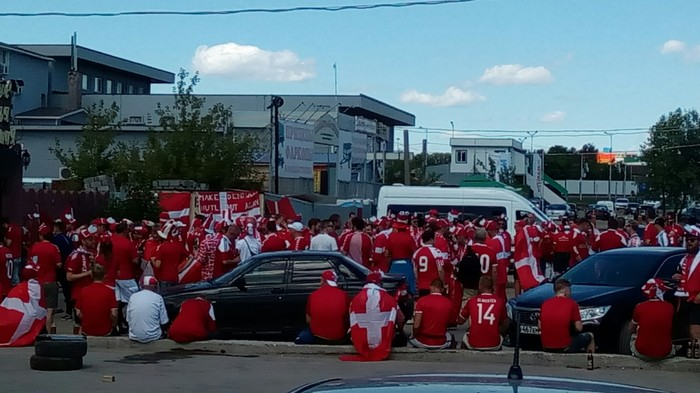 Дания в Самаре! Футбол, Чемпионат мира по футболу 2018, Болельщики, Дания