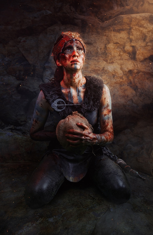 Косплей наSenua Hellblade Cosplay Косплей, Русский косплей, Senua, Hellblade, Длиннопост