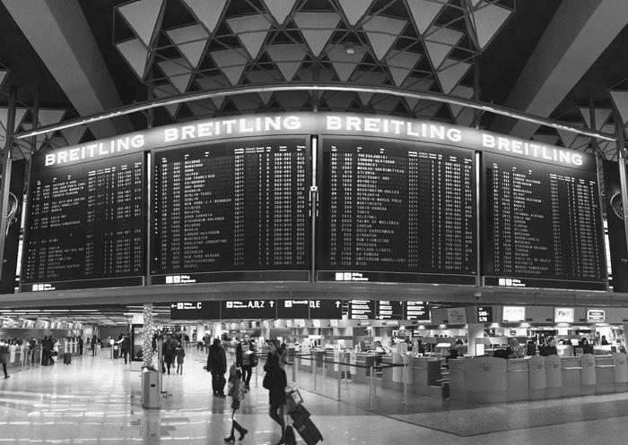Счёт на минуты Аэропорт, Время, Расписание, Франкфурт-На-Майне