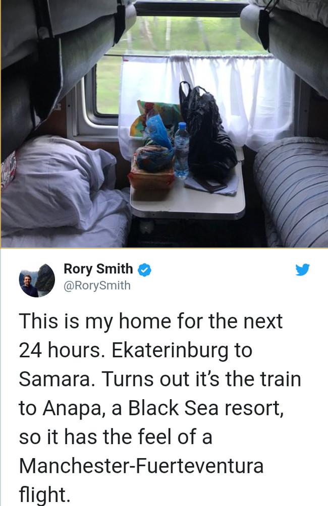 Милейшая история о том, как британец сутки ехал плацкартом из Екб в Самару спорт, футбол, чм 2018, поезд, плацкарт, гостеприимство, Россия, Копипаста, длиннопост