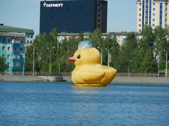 Уточка для ванны King-size Альметьевск, Озеро, Резиновая уточка, Татарстан, Длиннопост