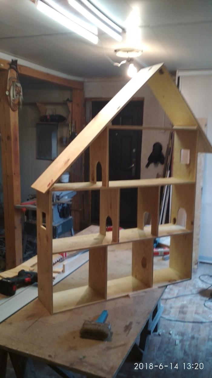 Моё увлечение 7. Кукольный домик. кукольный домик, своими руками, томск, подарок, длиннопост