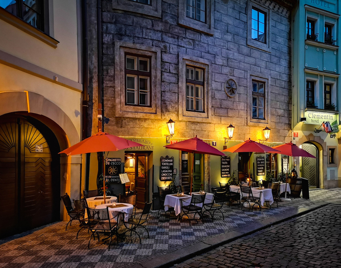 Ночное фото Праги Ночная съемка, Фотография, Photoshop, Прага, Чехия, Фасад, Lightroom