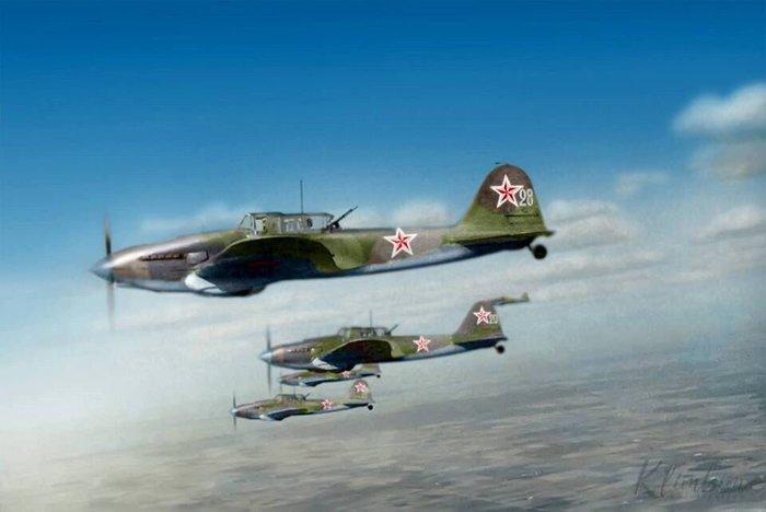 27 июня 1941 года, первый в истории боевой вылет Ил-2 Авиация, История, Дата, Ил-2, Самолет, Фотография, Карты, Длиннопост