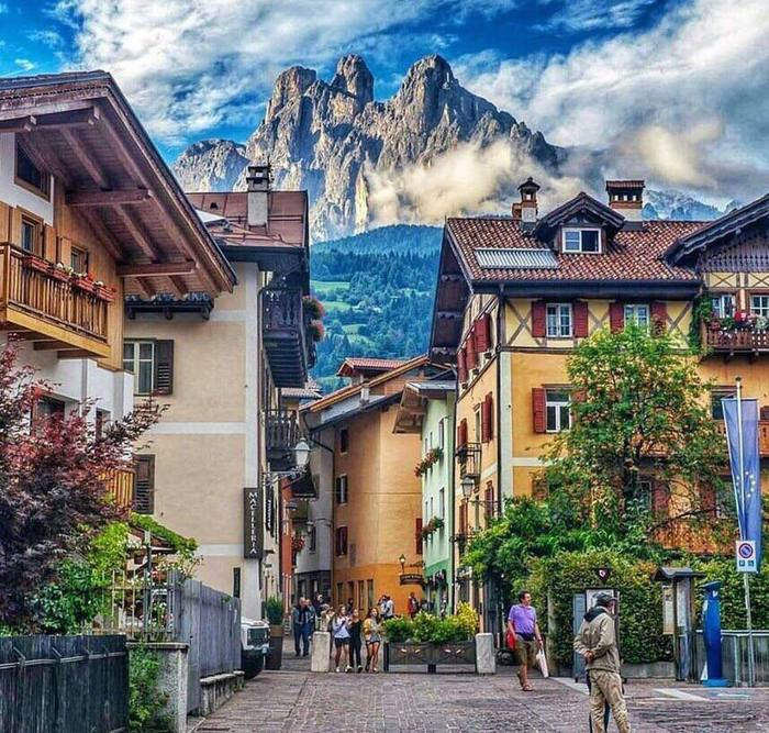 Италия Примьеро-Сан-Мартино-Ди-Кастро, Италия, Discovery, Фотография, Горы, Пейзаж