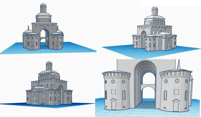 Золотые ворота stl Золотые ворота, STL, 3D, Печать