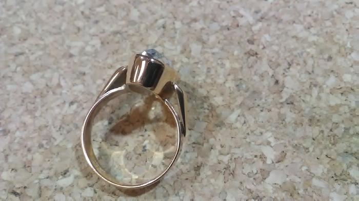 Вот что бывает, когда ртуть попадает на золотое кольцо Ювелирные изделия, Ремонт, Кольцо, Длиннопост