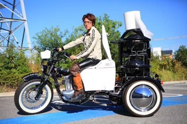 Японцы продемонстрировали навозный мотоцикл Мото, Мотоциклы, Япония, Навоз, Топливо