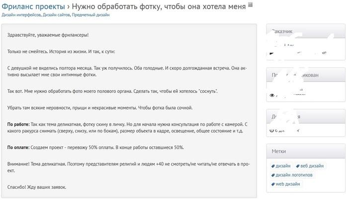 Необычный заказ Почти клубничка, Фриланс, Заказчики, Длиннопост