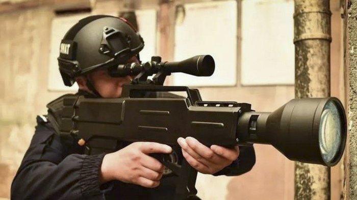 Китайцы представили лазерное ружье с дальнобойностью почти километр Geektimes, Копипаста, Лазерное оружие, Лазер, Китайцы, Будущее наступило, Оружие, Длиннопост