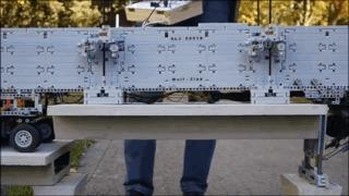 Lego Техник - установка моста LEGO, LEGO technic, Техника, Reddit, Гифка, Видео