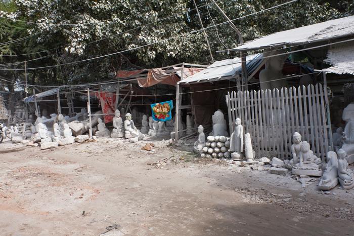 Здесь рождаются Будды Мьянма, Будда, Мандалай, Статуи Будды, Изготовление, Длиннопост