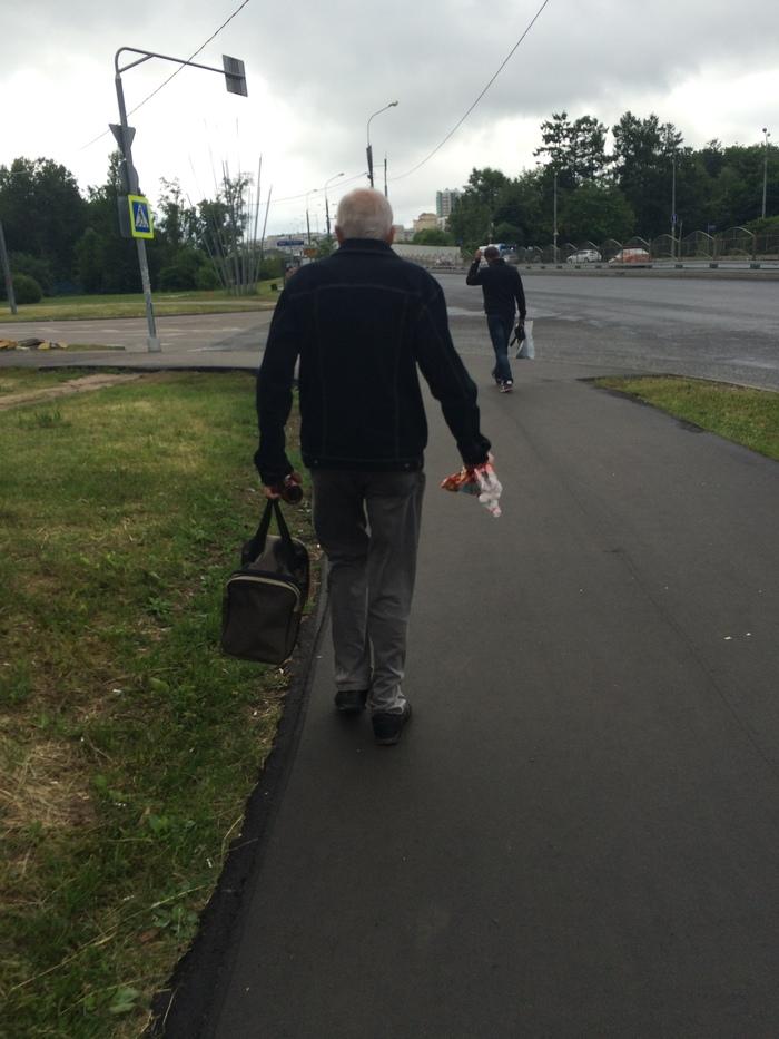 Каждый день он делает этот город чище Чистомен, Культура, Мусор, Дедушка чистомена, Зеленоград, Длиннопост