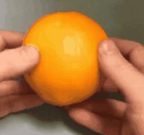 Есть у меня один маленький апельсин...