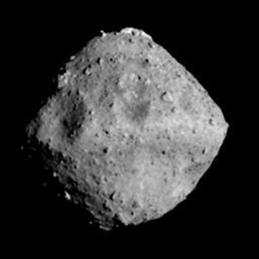 «Хаябуса-2» сфотографировал астероид Рюгу с дистанции 40 км Хаябуса-2, Фотография, Астероид, Рюгу, Дистанция, Числа, Километров, Длиннопост