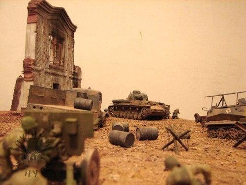 Сталинградская битва Сталинградская битва, Великая Отечественная война, Моделизм, Длиннопост