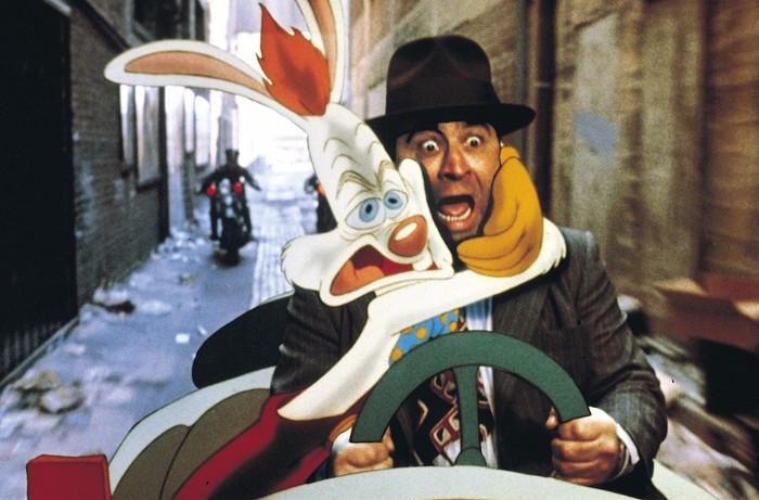 Как это снято: «Кто подставил Кролика Роджера» Кто подставил кролика роджера, Создание, Длиннопост, Видео, Гифка