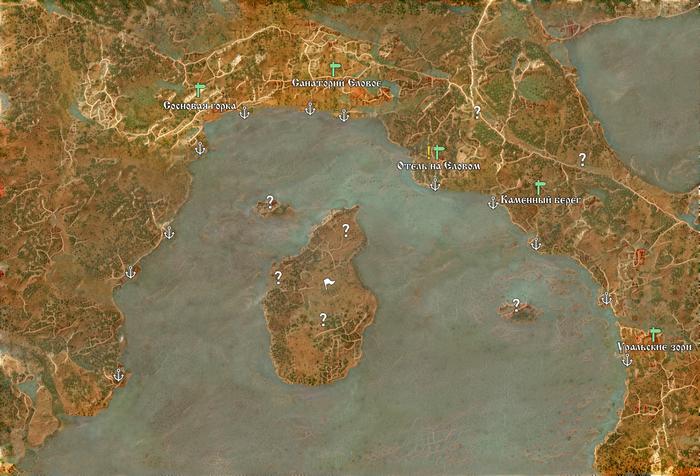 Карта озера в стиле Witcher 3 Ведьмак 3, Карты, Озеро, Ostagram