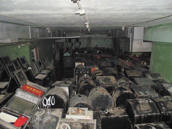 Сотни игровых автоматов спрятанные в советском зищитном сооружении! СССР, Убежище, Длиннопост, Игровые автоматы