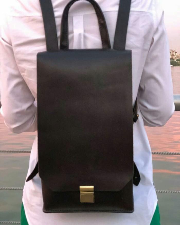 Мини кошелек и рюкзак Кожа, Изделия из кожи, Рукоделие без процесса, Длиннопост